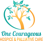 One Courageous Hospice & Palliative Care - logo